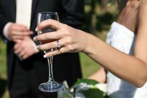 vin d'honneur mariage Bretagne